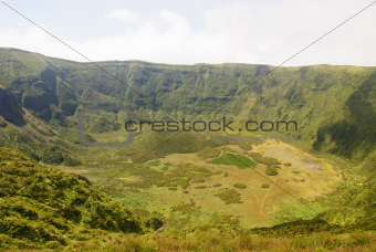 Caldeira do Faial, crater