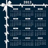 2013 Calendar with bows