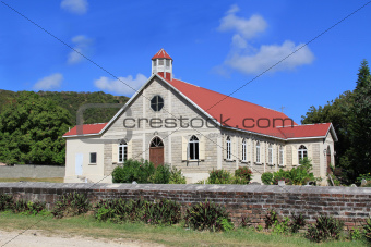 St. Paul's Anglican Church in Antigua