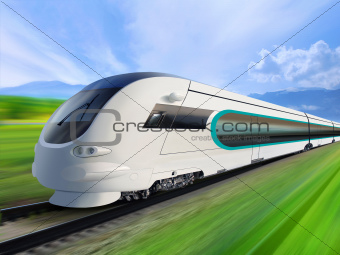 super streamlined train