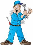 Happy Auto Mechanic