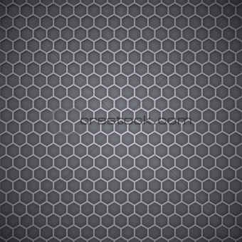 Metal Honeycomb Texture.