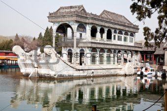 marble boat