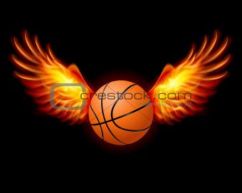 Basketball-Fiery wings