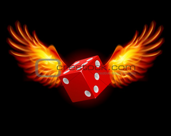 Dice-Fiery wings