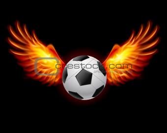 Football-Fiery wings