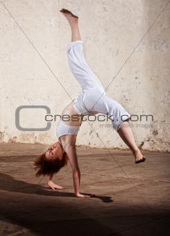 Capoeria Cartwheel Demonstration
