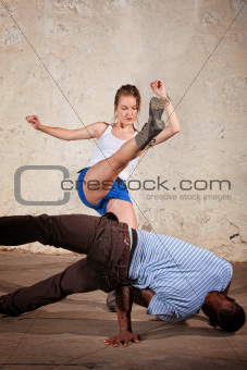 Capoeria Crescent Kick