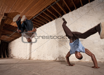 Capoeria Back Flip and Headstand