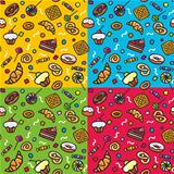 Seamless pattern: Sweets
