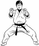 TaeKwonDo/Karate Defensive Stance &amp; Block