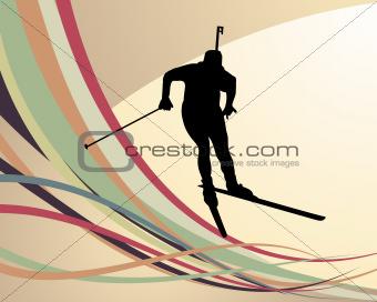 biathlon athlete