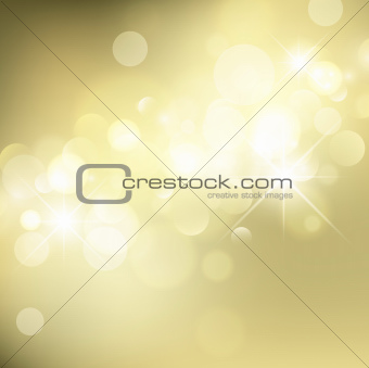 Abstract Golden Holiday Background