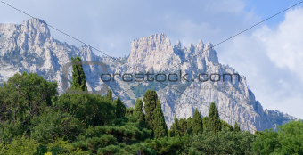 Crimea mountain.