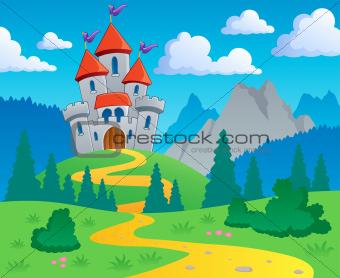 Castle theme landscape 1