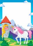 Fairy tale theme frame 4