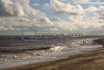 Southwold Beach, Suffolk, England