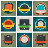 Vector badges set