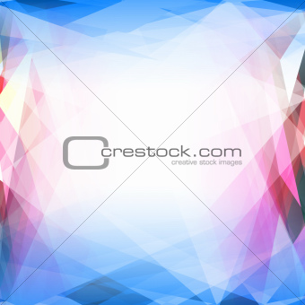 Abstract vector background. Template for style design. EPS 10. Used opacity mask and transparency layers of background