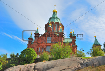 Helsinki. Uspenski Orthodox Cathedral