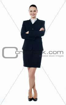 Successful young businesswoman, portrait