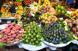 fresh fruit at the greengrocer