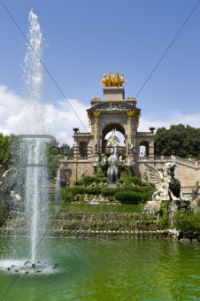 fountain Parc de la Ciutadella