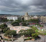 Catalonia Square panorama