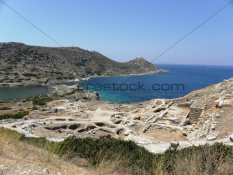 Ruins of the ancient city of Knidos.