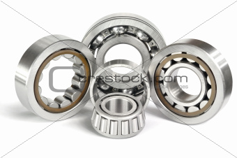 Four ball bearings