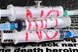 Three disposable syringe