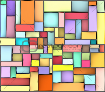 rainbow color abstract pattern tile surface backdrop