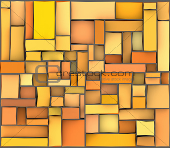 orange yellow abstract pattern tile surface backdrop