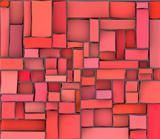 red pink abstract pattern tile wall surface backdrop