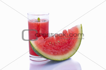 Watermelon with Juice