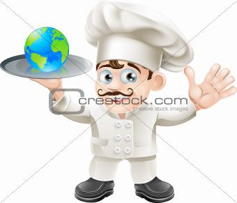 Chef globe concept