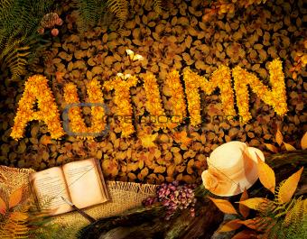 Autumn design - Dear diary