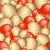 seamless christmas balls