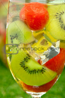 Kiwi Melon Sangria 