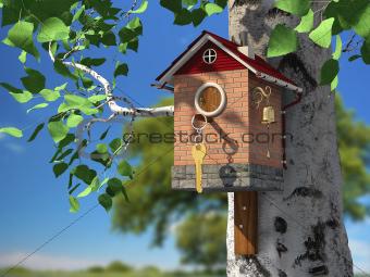 Elite birdhouse