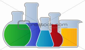 Flasks and Beaker