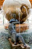 Fountain &quot;the globe&quot;in Valladolid