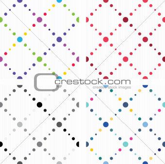 Artistic colored seamless textures
