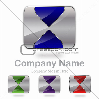 Abstract Star Company Logo