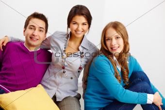Group of three