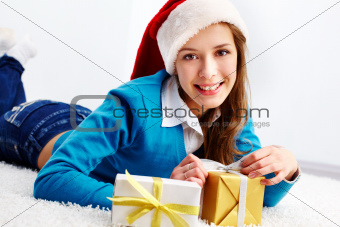Santa teenager