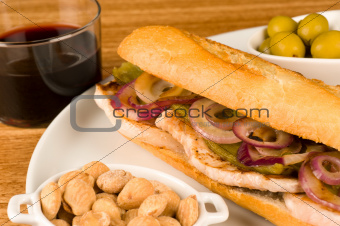 Spanish bocadillo