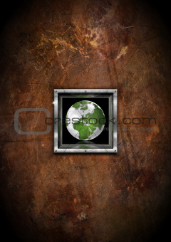 Eco Grunge Background