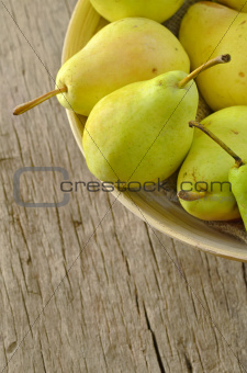flavorful pears