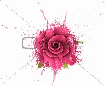 dye rose